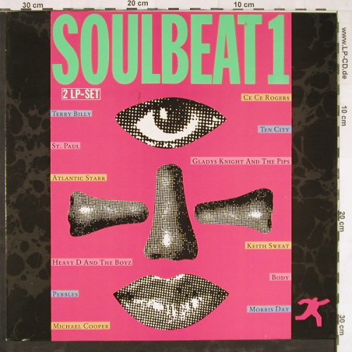 V.A.Soulbeat 1: Atlantic Starr...Terry Billy,12 Tr., WB(241 299-1), D, 1988 - 2LP - E3504 - 7,50 Euro