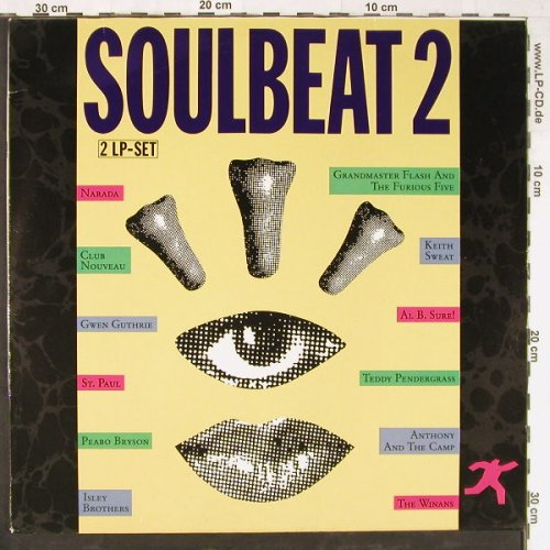 V.A.Soulbeat 2: Narada... The Winans, 12 Tr., WB(241 352-1), D, 1988 - 2LP - E3711 - 7,50 Euro