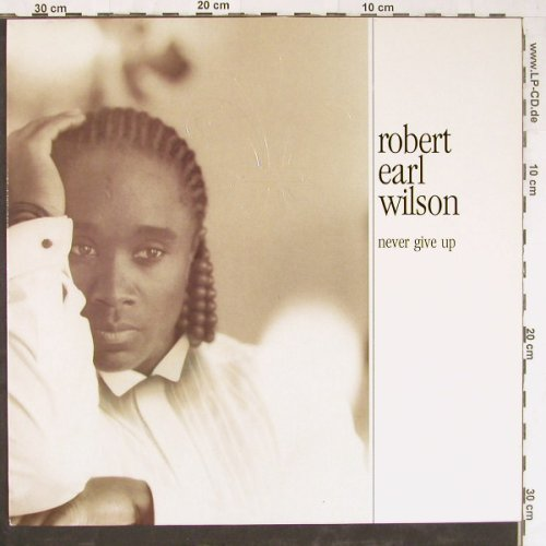 Wilson,Robert Earl: Never Give Up, Polydor(847 268-1), D, 1991 - LP - E3808 - 5,00 Euro