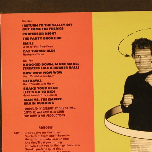 Was(Not Was): Born To Laugh To Tornadoes, Geffen(25592), NL, 1983 - LP - E3833 - 6,00 Euro