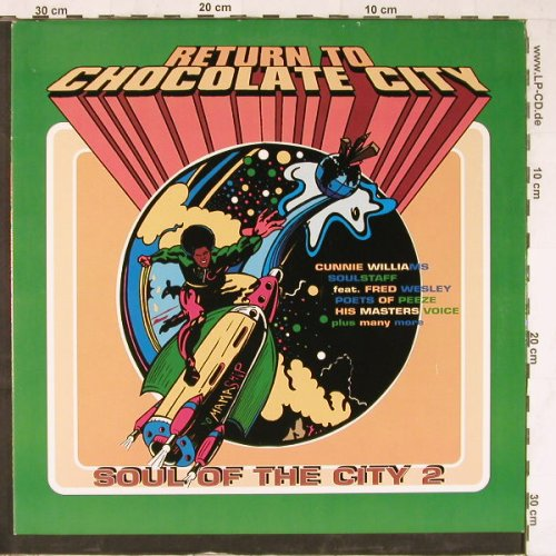 V.A.Return To Chocolate City: Soul Of The City 2, Yo Mama(YO 0905-1), D, 1993 - 2LP - E3957 - 9,00 Euro