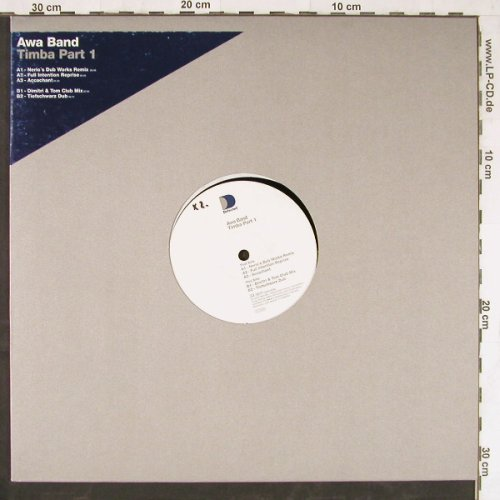 Awa Band: Timba Part 1,*5, Defected(0110900DEF), D, 2000 - 12inch - E4082 - 3,00 Euro