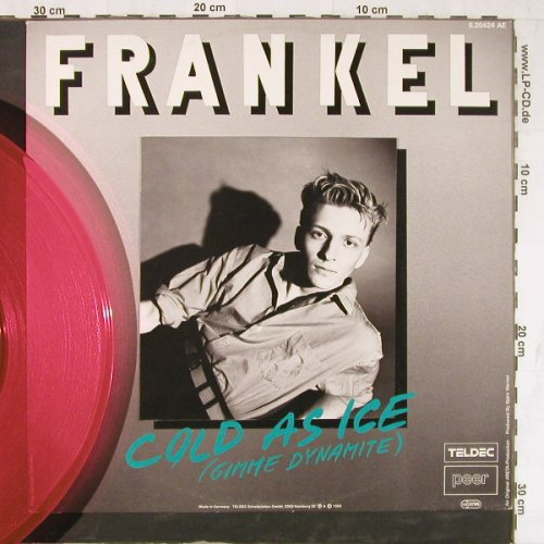 Frankel: Cold As Ice/Hunters In The City, Teldec(6.20424 AE), D,wol, 1985 - 12inch - E4130 - 2,50 Euro
