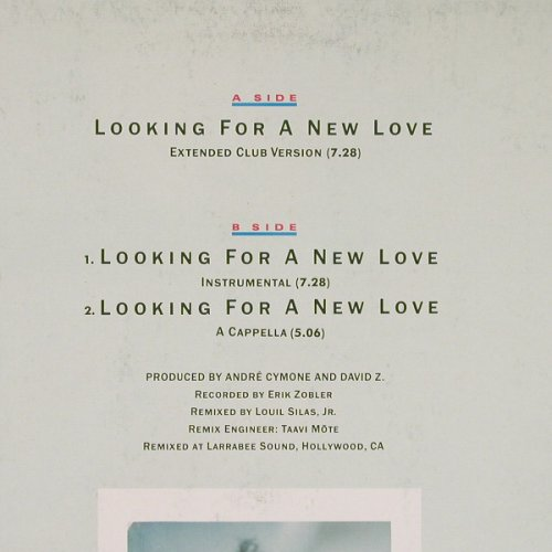 Watley,Jody: Looking For A New Love*3, MCA(258 493-0), D, 1986 - 12inch - E4180 - 3,00 Euro
