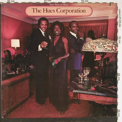 Hues Corporation,The: Your Place Or Mine,co,woc, Curb(BSK 3196), US, 1978 - LP - E4286 - 5,00 Euro
