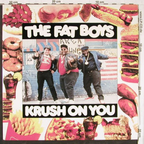 Fat Boys: Krush On You,Foc, Castle(BLAT LP 8), UK, 1988 - 2LP - E4510 - 12,50 Euro