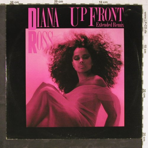 Ross,Diana: Up Front+1, vg+/vg+, Capitol(12 CL 306), US, 1983 - 12inch - E5397 - 1,50 Euro