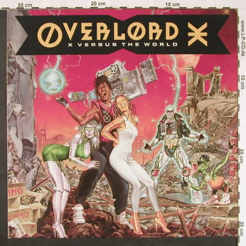 Overlord: Versus The World, Mango(211 057), D, 1990 - LP - E579 - 5,00 Euro