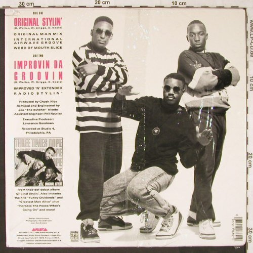 Three Times Dope: Original Stylin', co, Arista(AD1-9889), US, 1989 - 12inch - E6145 - 9,00 Euro