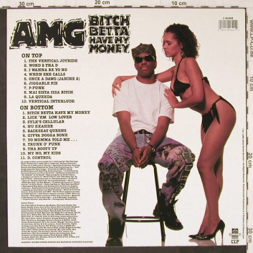 AMG: Bitch betta have my Money, Select Rec.(1-21642), US, 1991 - LP - E6161 - 25,00 Euro