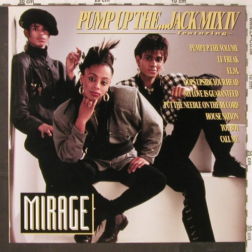 Mirage: Pump Up The...Jack Mix IV, BCM(B.C.12-2057-40), D,  - 12inch - E6485 - 3,00 Euro