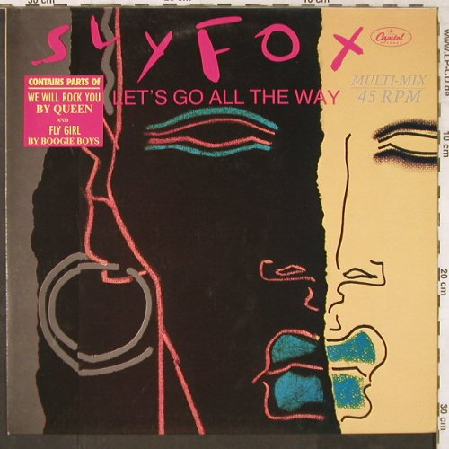 Sly Fox: Let's go all the way(Multi Mix)*3, EMI(20 1413 6), D, 1985 - 12inch - E6498 - 4,00 Euro