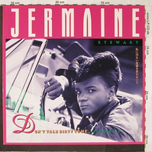 Stewart,Jermaine: Don't talk dirty to me*2+1, Virgin(611 580-213), D, 1988 - 12inch - E6657 - 3,00 Euro