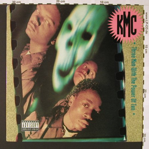 KMC: Three men with the power Of Ten, Priority(SL 57122), D, 1991 - LP - E6753 - 9,00 Euro