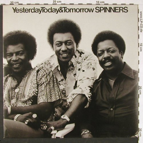 Spinners: Yesterday Today & Tomorrow, Atlantic(50 354), D, 1977 - LP - E718 - 6,00 Euro