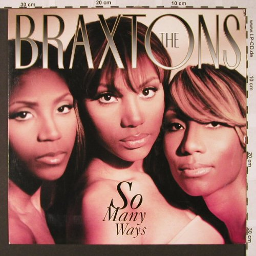 Braxtons: So Many Ways*4, Atlantic(7567-85485-0), D, 1996 - 12inch - E7727 - 3,00 Euro