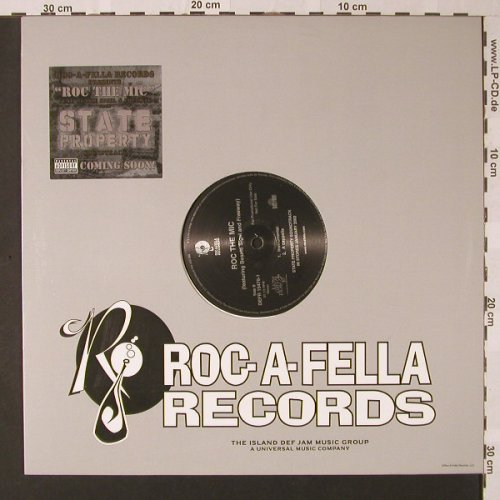 Roc The Mic/B.Sigel & Friends: State Property*4,Flc,Promo, Roc-A-Fell(DEFR 15476-1), US, 2001 - 12inch - E8322 - 2,00 Euro