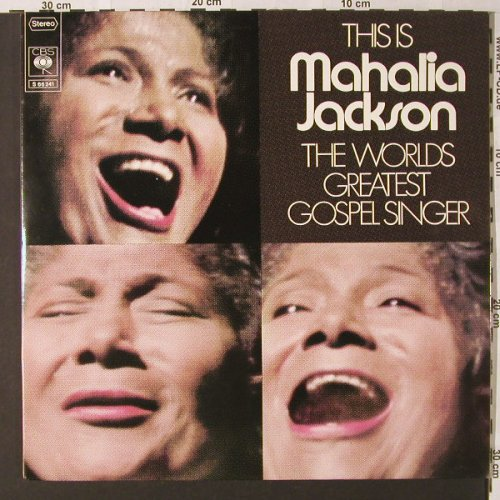 Jackson,Mahalia: This Is,Foc, CBS(CBS S 66 241), NL, 1973 - 2LP - E8840 - 5,00 Euro