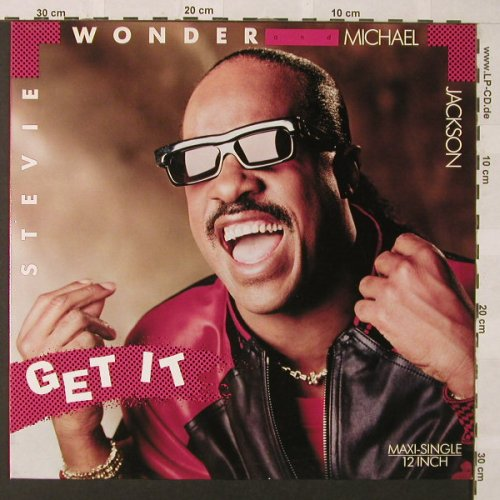 Wonder,Stevie & Michael Jackson: Get It*2, Motown(ZT41884), D, 1988 - 12inch - E9669 - 4,00 Euro