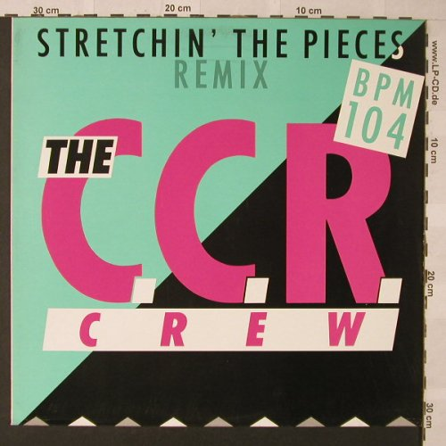 C.C.R.Crew: Stretchin'The Pieces*2+1, EMI(2 02531 6), D, 1988 - 12inch - E9931 - 4,00 Euro