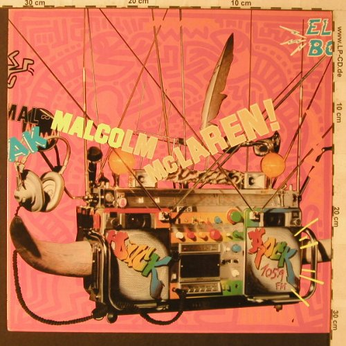 Mc Laren,Malcom: Duck Rock, Charisma(MMLP1), UK, 1983 - LP - F1162 - 9,00 Euro