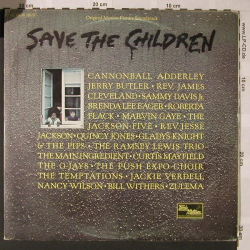 V.A.Save The Children: 19 Tr., Foc, Motown(C 188-95 056/57), D, 1973 - 2LP - F123 - 9,00 Euro
