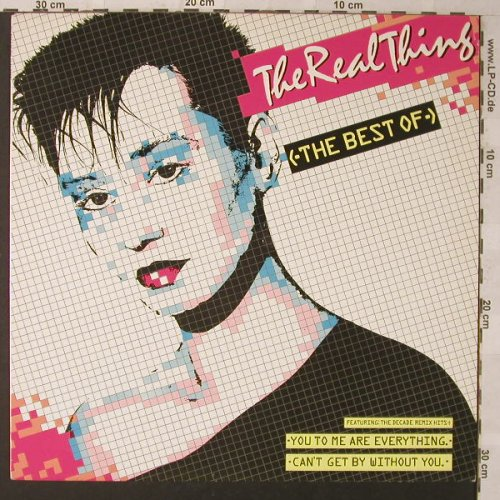 Real Thing: The Best Of, PRT(NRT 1), UK, 1986 - LP - F1328 - 5,00 Euro