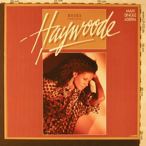 Haywoode: Roses, ext./Tease Me, CBS(A 12.6069), NL, 1985 - 12inch - F1404 - 2,50 Euro