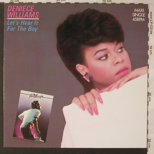 Williams,Denice: Let's Hear It For The Boy*2, CBS(A 12.4319), NL, 1984 - 12inch - F1412 - 2,50 Euro