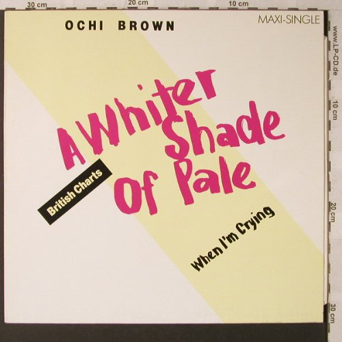 Brown,Ochi: A Whiter Shade of Pale+1, Magnet(601 126-213), D, 1983 - 12inch - F1606 - 2,50 Euro