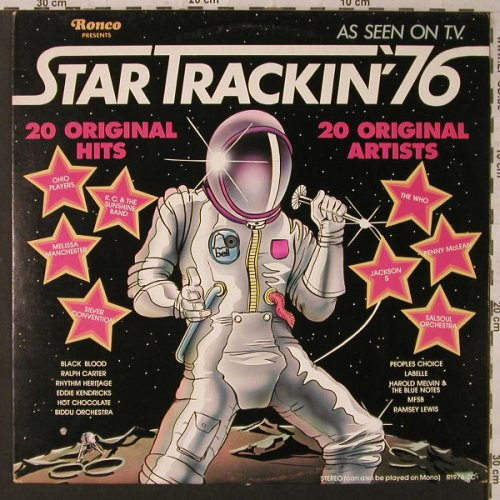 V.A.Star Trackin'76: 20 Tr., co, Ronco(R1976-2C), CDN, 1976 - LP - F1937 - 5,00 Euro