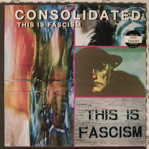 Consolidated: This is Fascism, m-/vg+, Nettwerk(NET 036), B, 1991 - 12inch - F2092 - 4,00 Euro