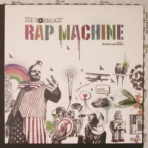 DJ Format: Rap Machine, one-sided, Genuine(GEN 034T), , 2005 - 12inch - F2152 - 5,00 Euro