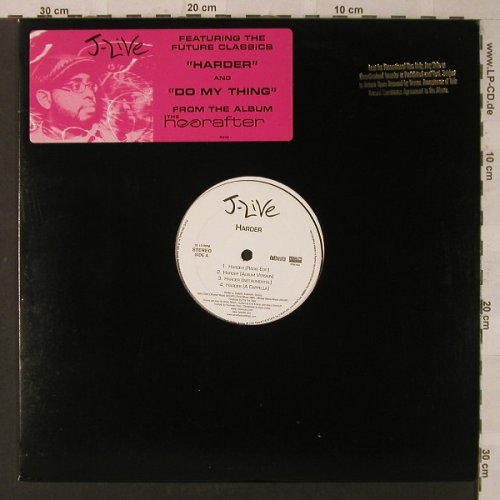 J-Live: Harder *3/Do my Thing *3, Ryko(PR4163), US,  - 12inch - F2179 - 7,50 Euro