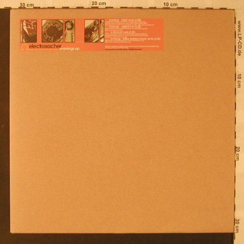 Electrosacher: Evenings EP, m-/vg+, Ohm Rec.(001), I, 2003 - 12inch - F2211 - 4,00 Euro