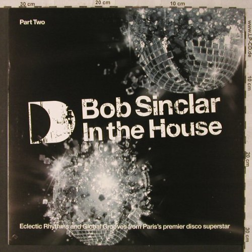 Sinclair,Bob: In the House, Part Two, ITH(15LP2), UK, 2005 - 2LP - F2279 - 12,50 Euro