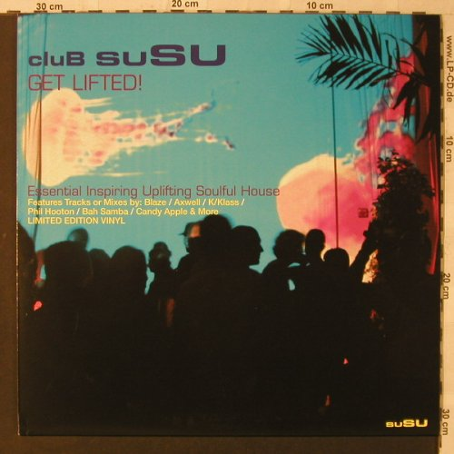 V.A.Club Susu: Get Lifted, Concept Music(SUALBLP13), EU, 2005 - 2LP - F2305 - 10,00 Euro