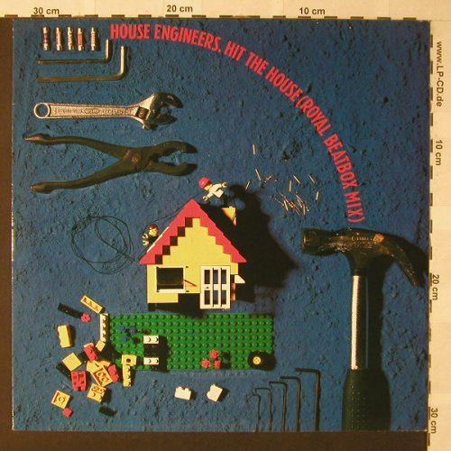 House Engineers: Hit The House*3, EMI(20 2814 6), NL, 1988 - 12inch - F236 - 3,00 Euro