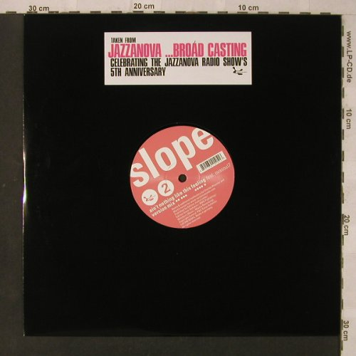 Slope: Ain't Nothing Like This f.Ovasoul7, Sonar Kollektiv(SK105), D, LC, 2006 - 12inch - F2512 - 5,00 Euro