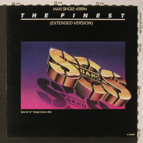 S.O.S. Band: The Finest*3, TABU(A 12.6997), NL, 1986 - 12inch - F2617 - 2,50 Euro