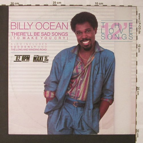 Ocean,Billy: There'll Be Das Songs+2, Jive(6.20562 AO), D, 1986 - 12inch - F279 - 2,50 Euro