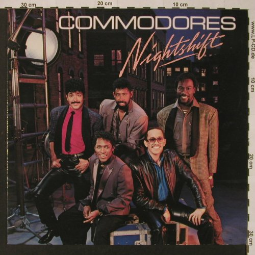 Commodores: Nightshift, Motown(ZL72343), D, 1985 - LP - F2842 - 4,00 Euro