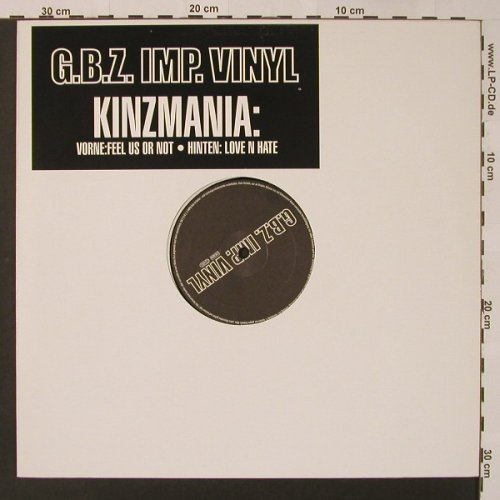Kinzmania: Feel Us Or Not*2/Love N Hate*2, G.B.Z.Imp.Vinyl(), D,  - 12inch - F2998 - 2,50 Euro