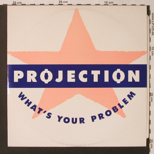 Projection: What's Your Problem*2, Jam Today(12CHIL8), UK, 1988 - 12inch - F3014 - 4,00 Euro