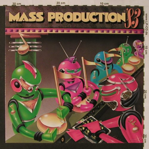 Mass Production: '83, co, Cotillion(79-0079-1), D, 1983 - LP - F3559 - 7,50 Euro