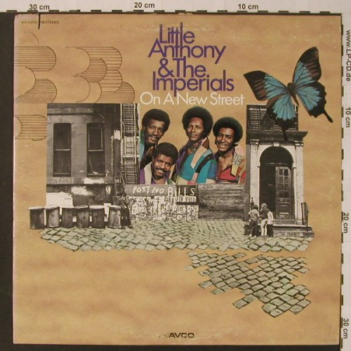 Little Anthony & The Imperials: On A New Street, co, m-/vg+, Avco(AV-11012-598), US, 1973 - LP - F3593 - 12,50 Euro
