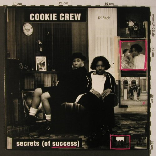Cookie Crew: Secrets(of success)*4+1, London(869 539-2), US, 1991 - 12inch - F3817 - 5,00 Euro