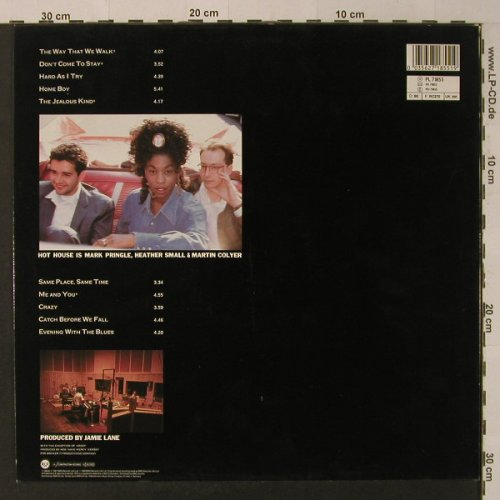 Hot House: South, RCA(PL 71855), D, 1988 - LP - F4355 - 5,00 Euro