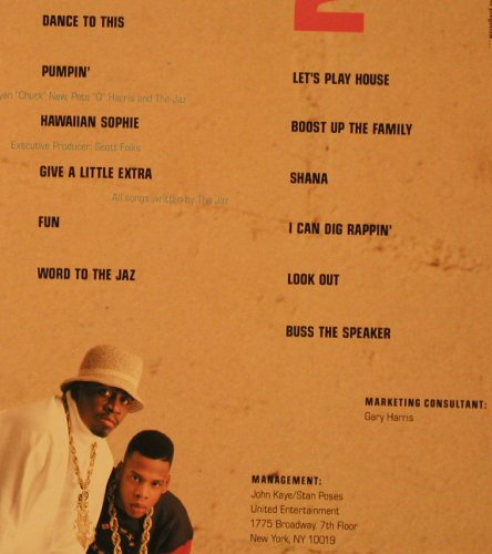 Jaz (The): Word To The Jaz, EMI(E1-91170), US, 1989 - LP - F4475 - 7,50 Euro