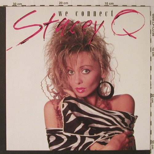 Stacey Q: We Connect*3, Atlantic(786 757-0), D, 1986 - 12inch - F4618 - 2,50 Euro